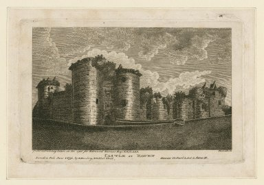 Castle at Rouen, Henry VI, part 1, act 3, scene II [graphic] / from a drawing taken on the spot for Edmund Turnor ; Birrell sc.