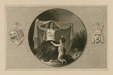 [Shakespeare as a boy with allegorical figure representing Nature] [graphic].