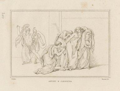 Antony & Cleopatra, [act 3, scene 13] [graphic] / Tresham ; Normand fils.