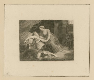 [Antony and Cleopatra], act V, scene II [graphic] / Woodforde, A.R.A. pinx. ; Heath, sculp.