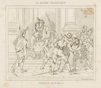 Shakspeare's Othello [a set of 6 engravings illustrating scenes from the play] [graphic].