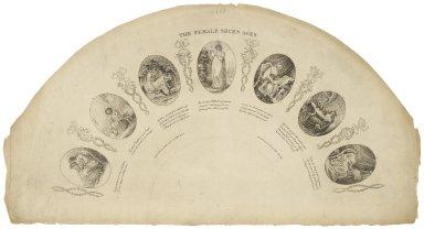 The female seven ages [graphic] / Geo. Wilson, invent. et delt.