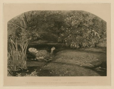 Ophelia [character in Hamlet] [graphic] / From the painting by Sir J. E. Millais, bart.
