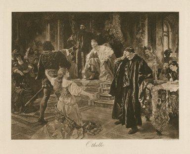 Othello, [act I, scene 3] [graphic].