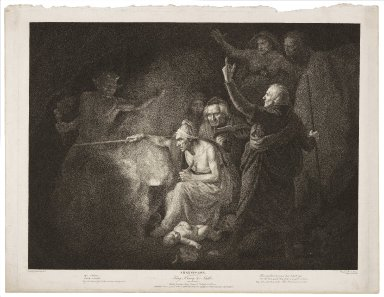 Second part of King Henry the Sixth, act I, scene IV, Mother Jourdain, Hume, Southwell, Bolingbroke & Eleanor ... [graphic] / painted by John Opie ; engraved by C.G. Playter ; finished by R. Thew.