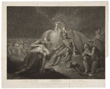 Third part of King Henry 6th, act II, scene V... [graphic] / painted by Jh. Boydell ; engrav'd by J. Ogborne.