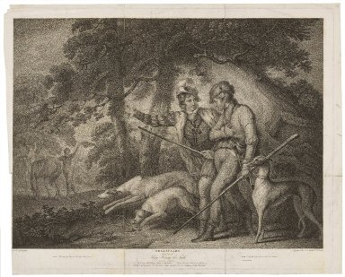 Third part of King Henry the Sixth, act IV, scene V [graphic] / painted by Wm. Miller ; engraved by I.B. Michel & Wm. Leney.