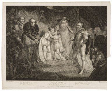 King Richard the Third, act III, scene I: Prince, Richard of York!, how fares our loving brother ... [graphic] / painted by James Northcote ; engraved by Robert Thew.
