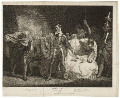 Winter's tale, act II, scene III ... [graphic] / painted by J. Opie ; engrav'd by J.P. Simon.