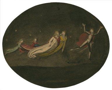Midsummer night's dream, figure of Oberon and Titania