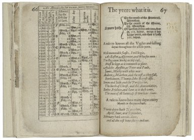 [Litle treatise, conteyning many proper tables and rules] A briefe treatise contayning manie proper tables and easie rules: very necessarie and needefull, for the vse and commoditie of all people, collected out [of] certaine learned mens workes.