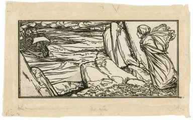[Illustration to act 1, scene 1 of the Tempest] [graphic] / [Robert Anning Bell].
