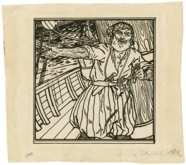[Illustration to act 1, scene 1 of Bell's edition of The tempest] [graphic] / [Robert Anning Bell].