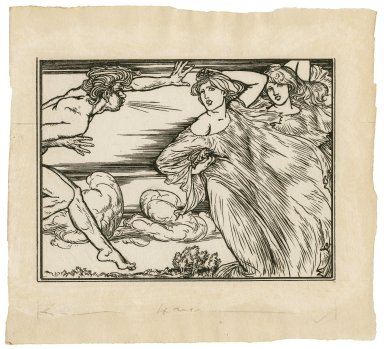 [Illustration to act 5, scene 1 of Bell's edition of The tempest] [graphic] / [Robert Anning Bell].