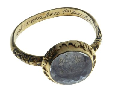 [Ring in memory of one who went to sea]