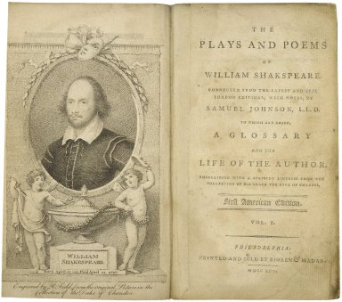 [Works] The plays and poems of William Shakespeare.