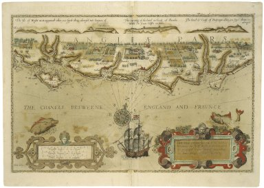 [Spieghel der Zeevaerdt. English] The mariners mirrour wherin may playnly be seen the courses, heights, distances ...