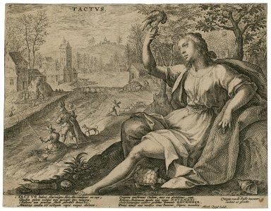 Tactus [graphic] / Crispin van de Passe inuentor, caelauit et excudit.