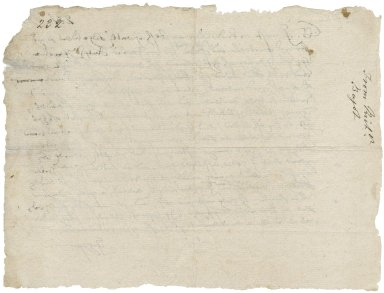 Letter from Richard Bagot to unidentified recipient