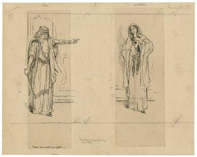 Lear, Cordelia [graphic] / [Louis Rhead].