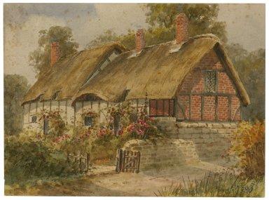 Stratford-on-Avon, Ann Hathaway's cottage [graphic].