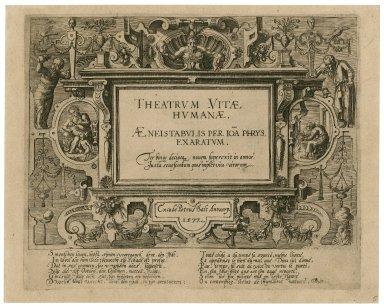 Theatrum vitae humanae [graphic] / aenis tabulis per Ioa[n] Phrys. exaratum.