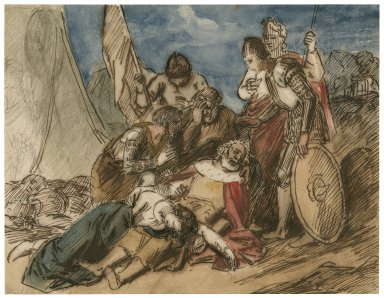 [Scene from King Lear - act V, sc. 3] [graphic] / [John Wright].