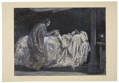 "Cymbeline, act II, scene II: ""O, sleep thou ape of death, lie dull upon her!"" [graphic] / S. Begg."