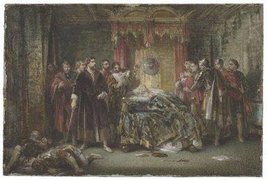 [King Henry VIII, III, 2] [graphic] / [George Cattermole].