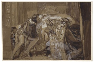 [King Henry IV, part II, IV, 2] [graphic] / [Alfred Edward Chalon].