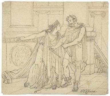 [Macbeth II, 2] [graphic] / [Alfred Edward Chalon].