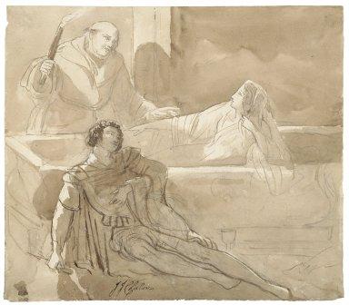 [Romeo and Juliet, V, 3, tomb scene] [graphic] / [John James Chalon].