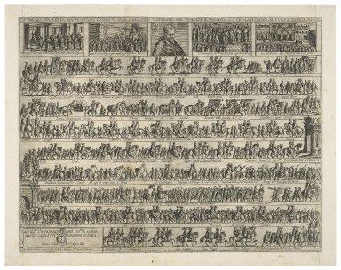 La caualcata fatta da N.S. Papa Paolo V dal Palazzo Vaticano nel pigliare il possesso a S. Gio. Laterano alli VI Nouembre MDCV [graphic].