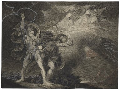 [The witches appear to Macbeth and Banquo] [graphic] / painted by H. Fuseli ; aqua fortis by Trotter.