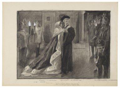 "Act III, scene II, King Richard -- ""So two, together weeping, make one woe ..."" [graphic] / Balliol Salmon, '03."