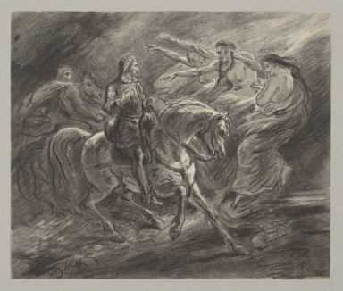 [Macbeth, I, 3, Macbeth and the witches] [graphic] / Ary Scheffer.