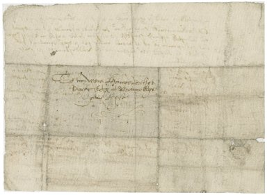Letter from Thomas Edge to Ralph Edge (his brother)