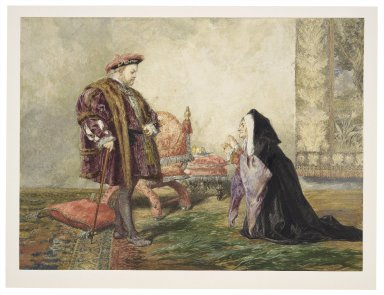 [Shakespeare's King Henry VIII, the petition] [graphic] / John Gilbert A.R.A.