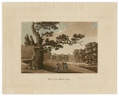 Herne's Oak, Windsor Park [from Shakespeare's Merry wives of Windsor] [graphic].