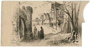 Ye sanctuary [King Richard III, March 23, 1889] [graphic] / John Jellicoe ; Herbert Railton.