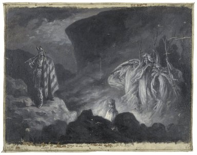 [Macbeth and the witches, act IV, scene 1] [graphic] / J. Jellicoe.