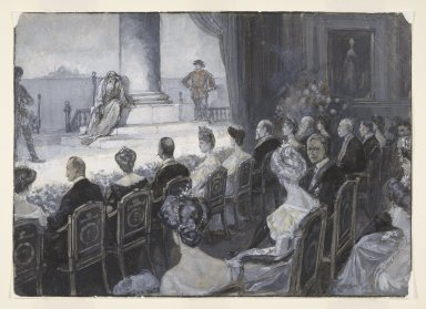 [Merchant of Venice, a special performance for King George of Greece at Windsor, November 15, 1903] [graphic] / D. Macpherson, '05.