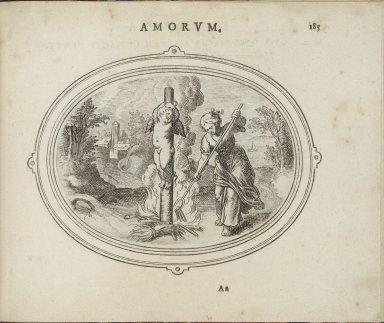 Amorum emblemata, figuris æneis incisa studio Othonis VænI Batauo-Lugdunensis. = Emblemes of loue. With verses in Latin, English, and Italian.