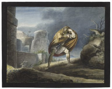 Timon of Athens, IV, 1, Without the walls of Athens [graphic] / [Johann Heinrich Ramberg].