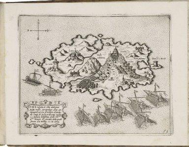 Isole famose porti, fortezze, e terre maritime sottoposte alla Ser.ma Sig.ria di Venetia ad altri principi Christiani, et al Sig. or Turco, nouame[n]te poste in luce.