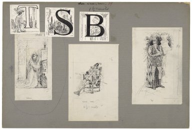[Illustration and initial letters for Othello in Lamb's Tales from Shakespeare] [graphic] / [Louis Rhead].