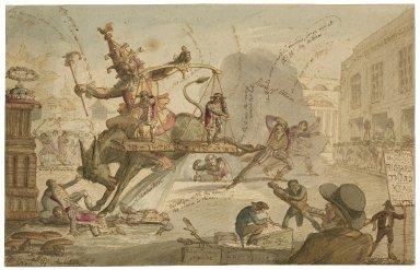 The rival Richards [graphic] / F. Str. delt., 1817.