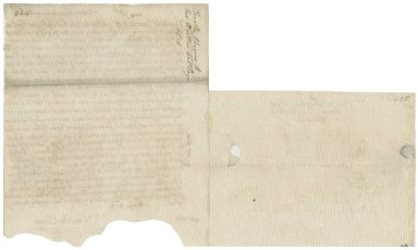Letter from Dorothy Okeover to Walter Bagot