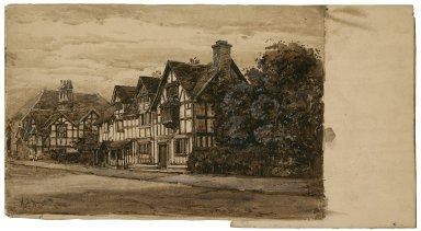 Shakespeare's birthplace [graphic] / A.C. Wyatt, 1904.