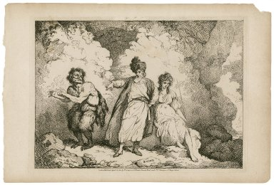 Scene in the Tempest from Shakespear [graphic] / Mortimer.